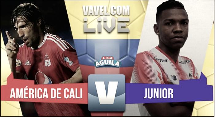 Resultado América de Cali vs Junior por la Liga Águila 2017 (3-1)