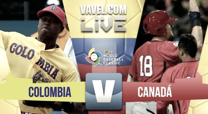 Colombia gana su primer partido ante Canadá en el Clásico (4-1)