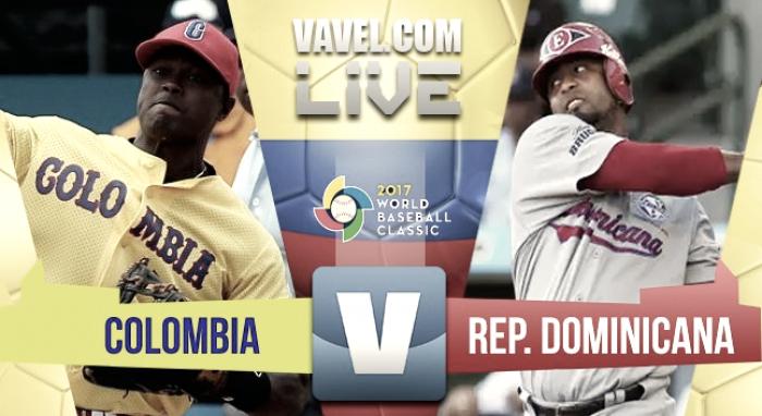 Dominicana gana ante una valiente Colombia (3-10)