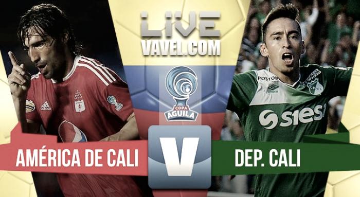 Vibrante empate en el clásico de Cali: América salva un punto ante el Deportivo (3-3)