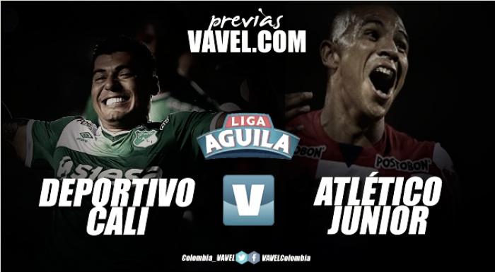 Deportivo Cali vs Atlético Junior: Los 'azucareros' van por tres puntos vitales para la clasificación