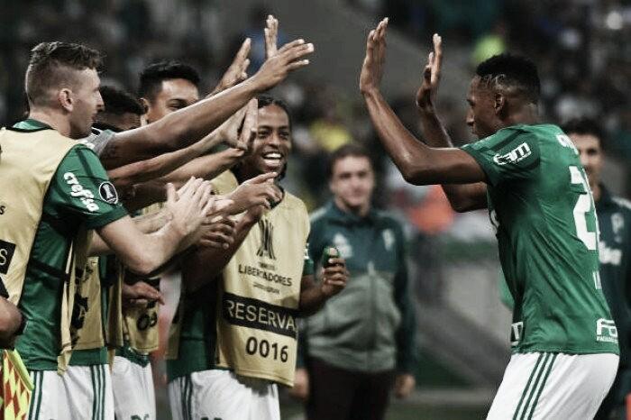 Palmeiras vence Atlético Tucumán e carimba vaga nas oitavasda Libertadores
