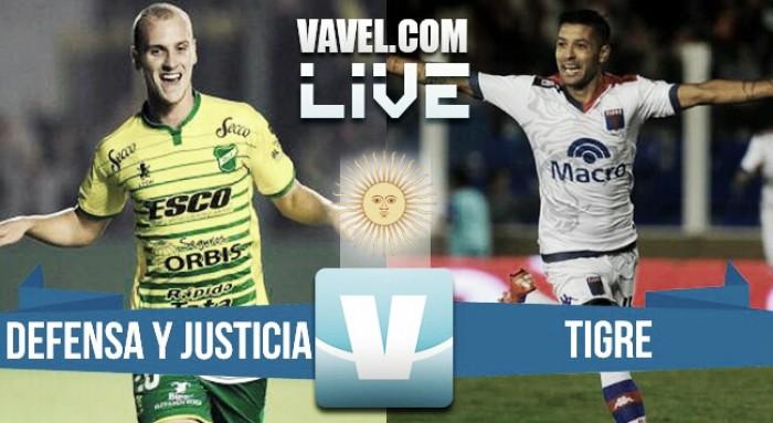 Defensa 1-0 Tigre: el Halcón picoteó al Tigre