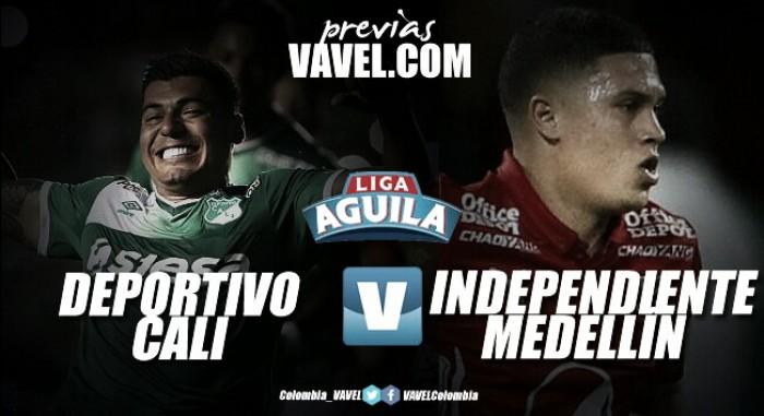 Deportivo Cali vs Independiente Medellín: los locales buscarán asegurar los cuartos de final en casa