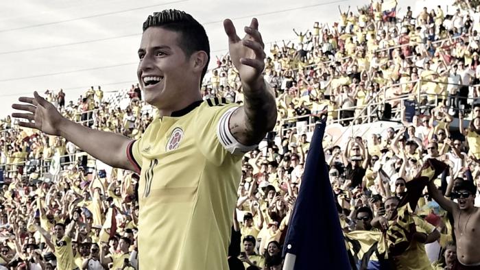 Colombia fue contundente y dio una exhibición de goles ante Camerún