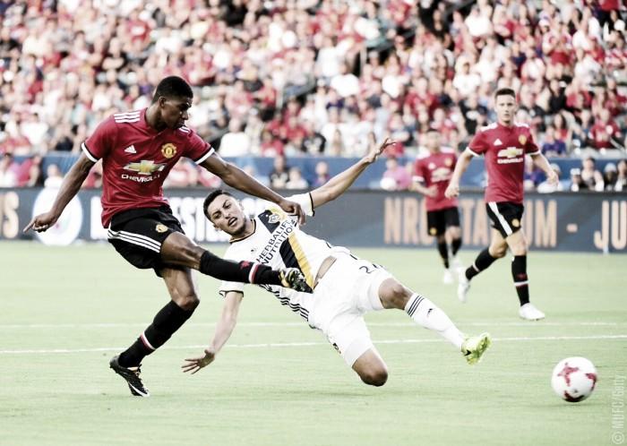 Manchester United derrotó por 5-2 a LA Galaxy