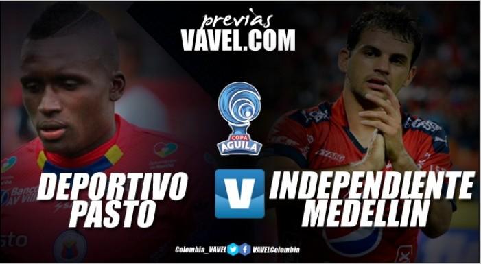 Deportivo Pasto vs. Independiente Medellín: partido de vuelta para llegar a los cuartos de final de la Copa Águila 2017