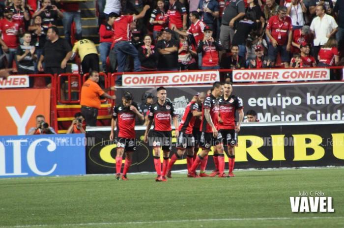 Santos cae dos goles por cero en la primera mitad contra Tijuana