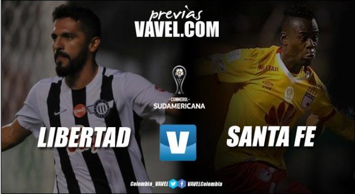 Previa Libertad vs Santa Fe: el 'rojo' vuelve al ruedo en la Copa Sudamericana 2017