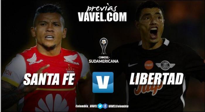 Previa Santa Fe vs Libertad: los 'cardenales' van por la remontada en Copa Sudamericana 2017