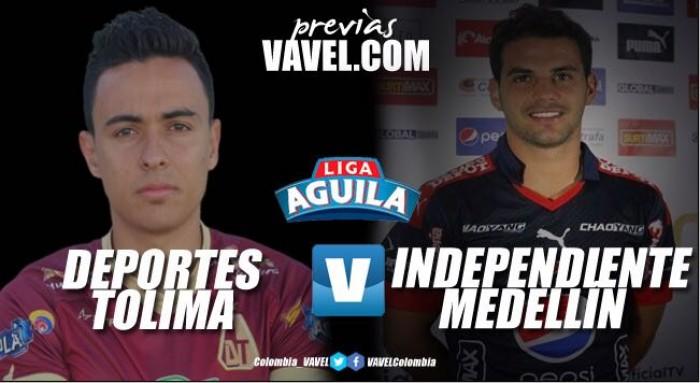 Tolima vs Medellín: los 'pijaos' reciben al 'poderoso' a la espera de tres puntos que los acerquen a los 'play offs'