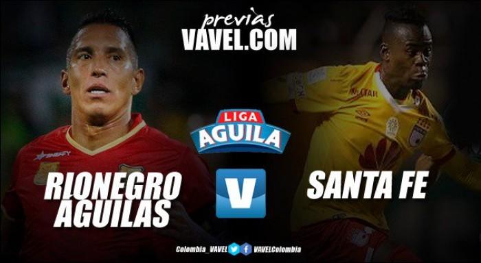 Previa Rionegro Águilas vs Santa Fe: los 'cardenales' quieren seguir sumando en liga