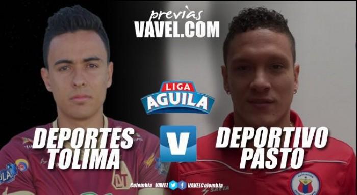 Previa Deportes Tolima - Deportivo Pasto: 'Pijaos' en busca de un cupo en los 'playoffs'