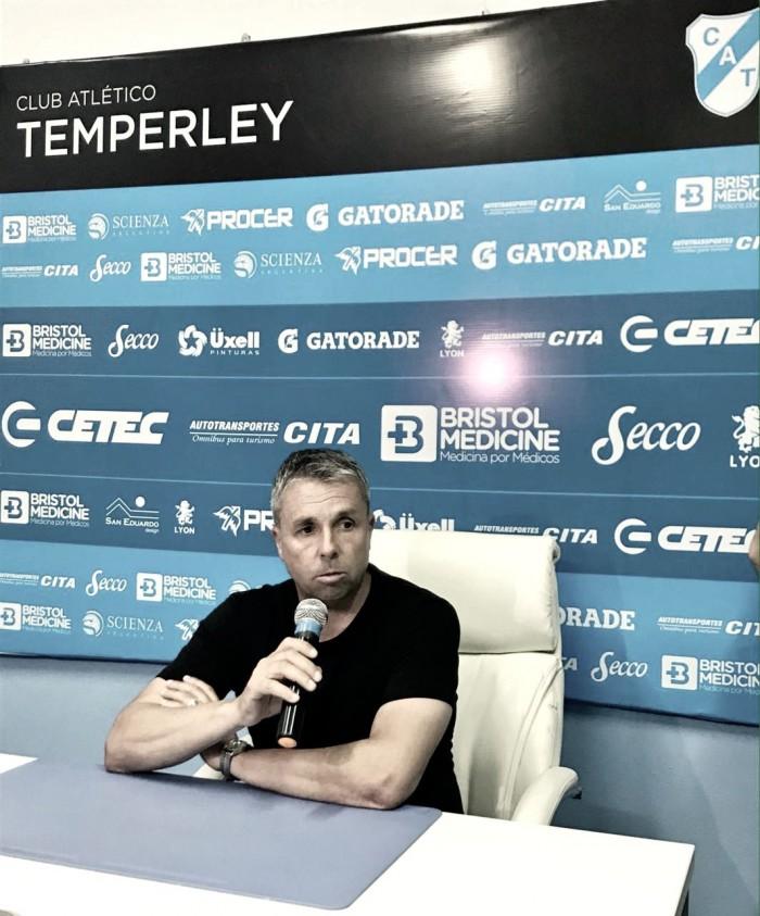 """Gustavo Álvarez: """"Tomé la decisión de no continuar al frente del equipo"""""""