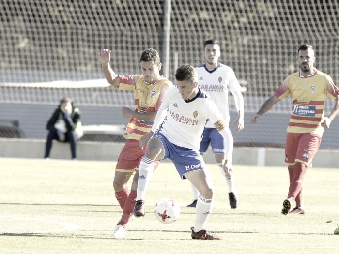 Un Alcoyano en racha hunde al Deportivo Aragón