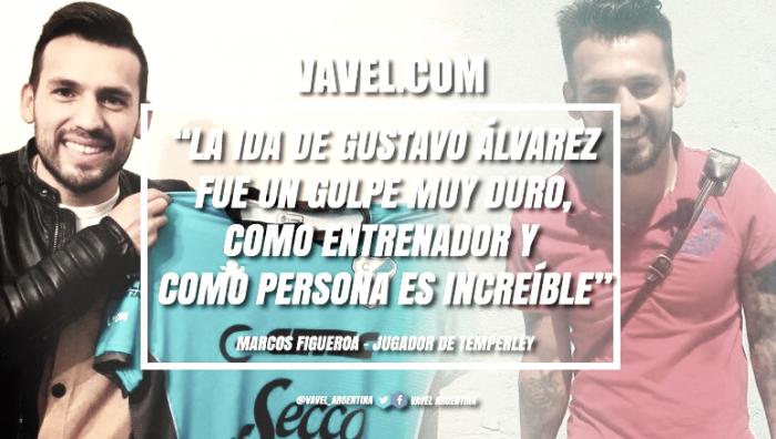 Marcos Figueroa habló sobre la ida de Gustavo Àlvarez y la actualidad del equipo