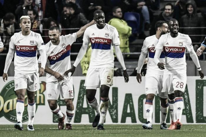 Lyon encontra facilidade, goleia Apollon e avança à próxima fase da Europa League