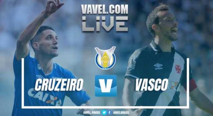 Resultado Cruzeiro x Vasco pelo Brasileirão Série A 2017 (0-1)