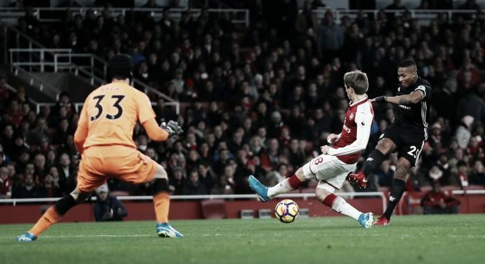 Con eficacia y De Gea, Manchester United venció al Arsenal