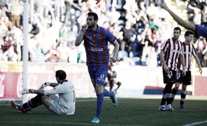 """El Levante recibe a un Athletic en """"crisis"""" necesitado de puntos"""