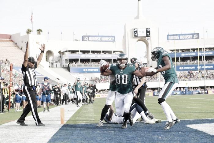 Dolorosa victoria de los Eagles en Los Ángeles