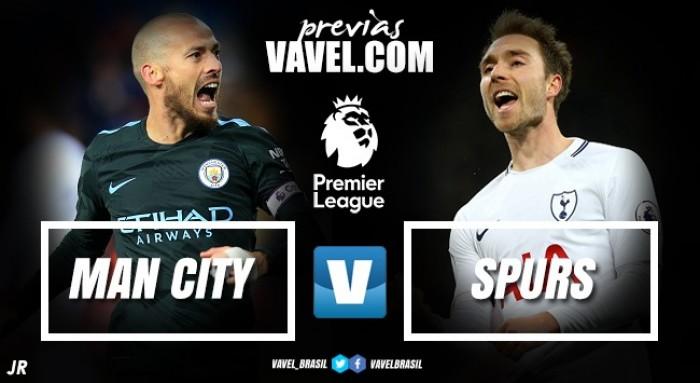 Para manter sequência histórica, Manchester City recebe Tottenham em clássico na Premier League