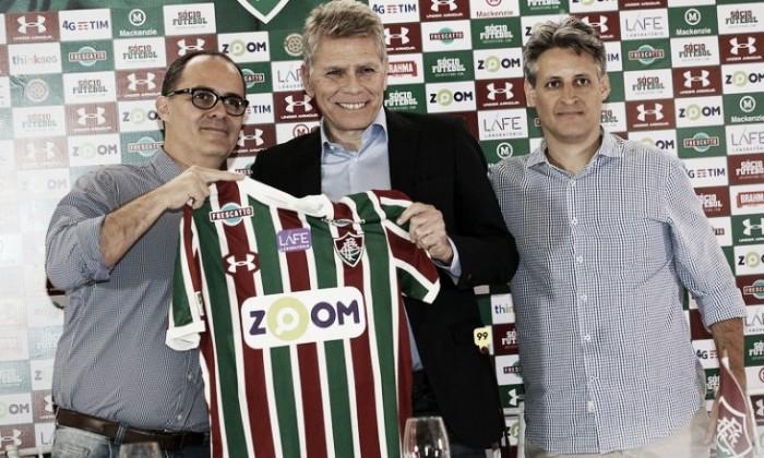Reformulação: Fluminense apresenta Paulo Autuori e Fabiano Camargo como novos dirigentes