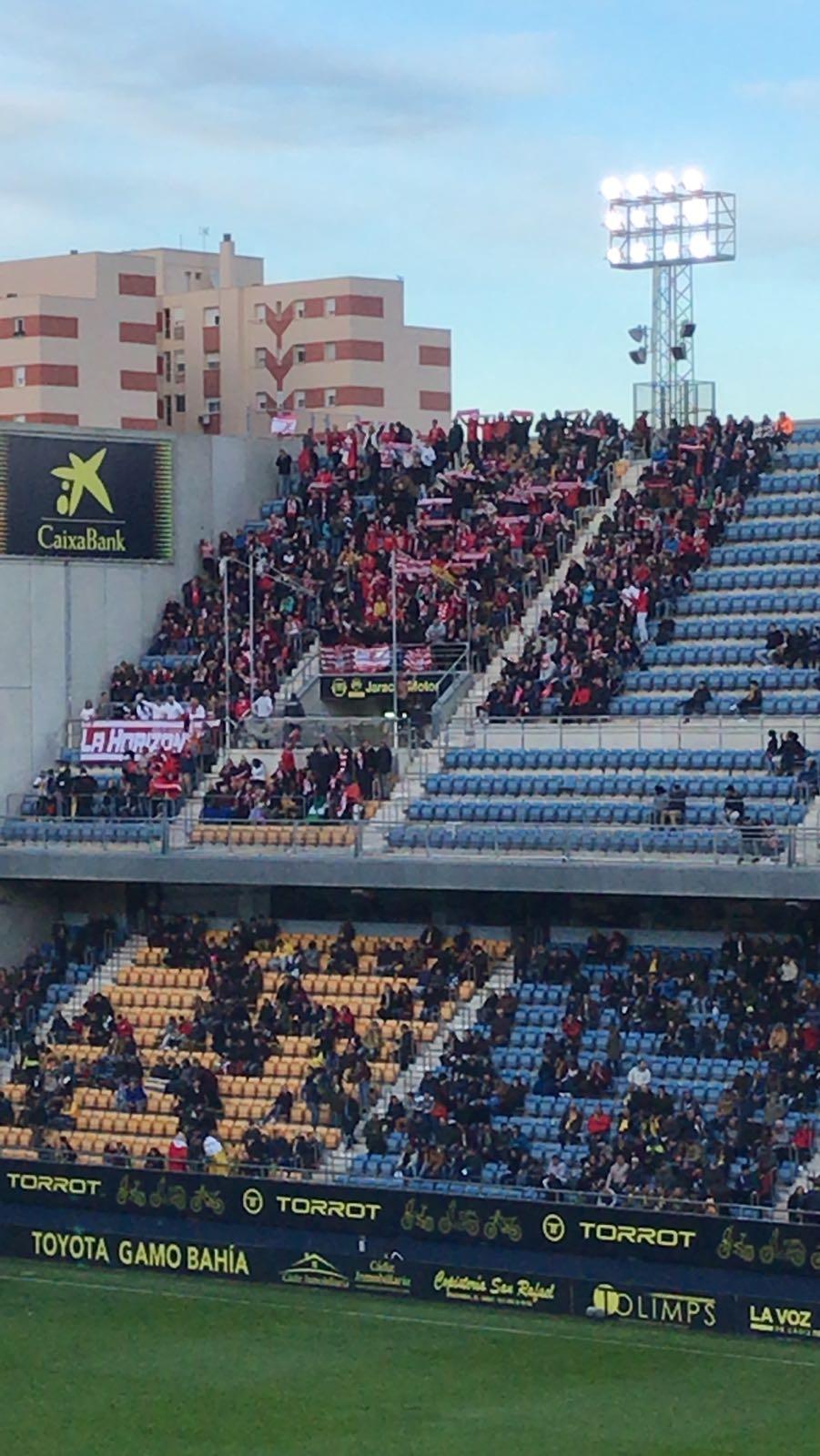 El Granada CF estará arropado en el Carranza