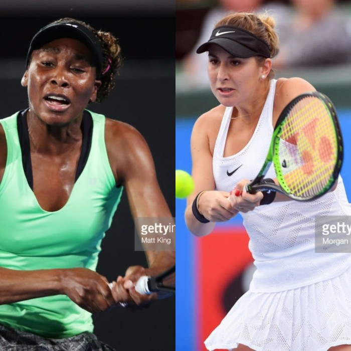 Australian Open first round preview Venus Williams vs Belinda Bencic