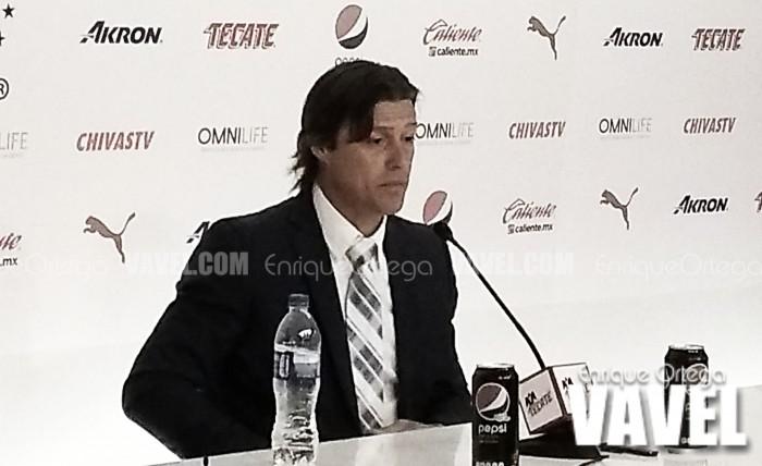 """Matias Almeyda: """"Deseo que el VAR llegue pronto a la liga"""""""