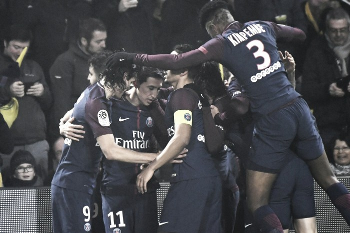 EL PSG vence por la mínima al Nantes
