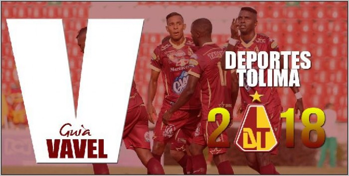 Guía VAVEL Liga Águila 2018-I : Deportes Tolima