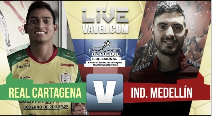 Resultado Real Cartagena vs Medellín en vivo por el Torneo Bolívar Sí Avanza (0-5)