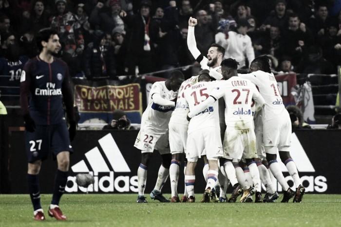 La hazaña del Lyon frente al PSG