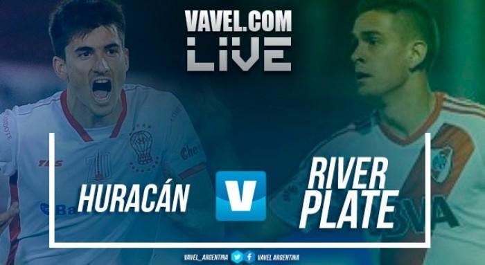 Resultado Huracán vs River Plate en vivo por Superliga (1-0)