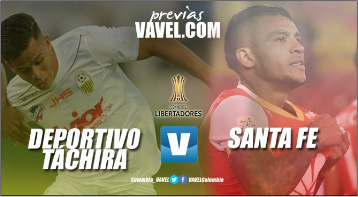 Previa Deportivo Táchira vs. Santa Fe: Debut 'cardenal' en la Copa Libertadores 2018