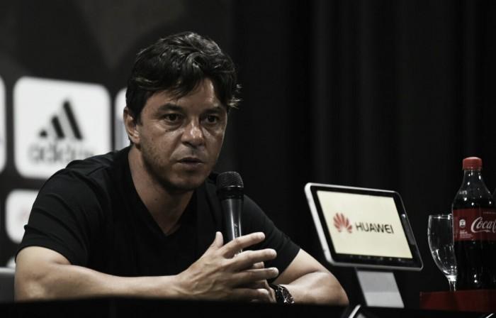"""Gallardo: """"Viene bien ganar para seguir soltándose"""""""