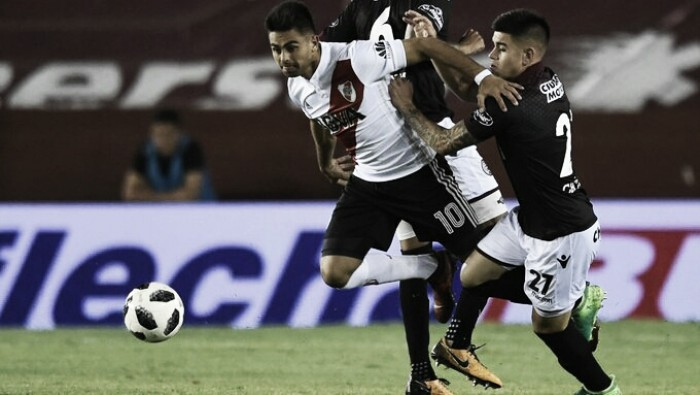 River involucionó en su juego y perdió 0-1 ante Lanús