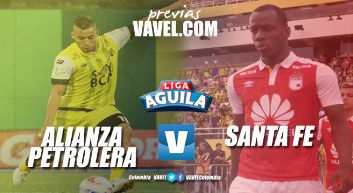 Previa Alianza Petrolera vs Santa Fe: el 'rojo', urgido de comenzar a sumar en la Liga Águila 2018-I