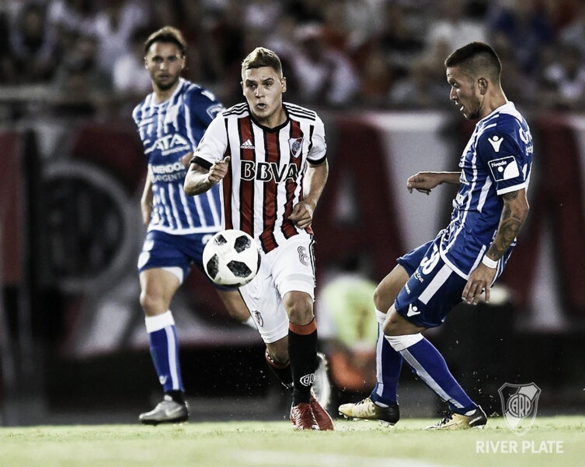 """Quintero: """"No nos sirve el empate, tenemos que ganar""""."""