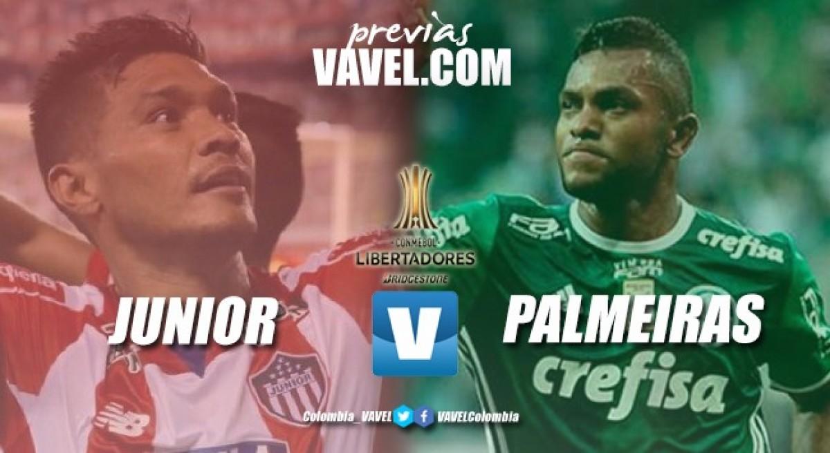 Previa Junior - Palmeiras: el inicio de la fase de grupos, oportunidad para dar el primer golpe