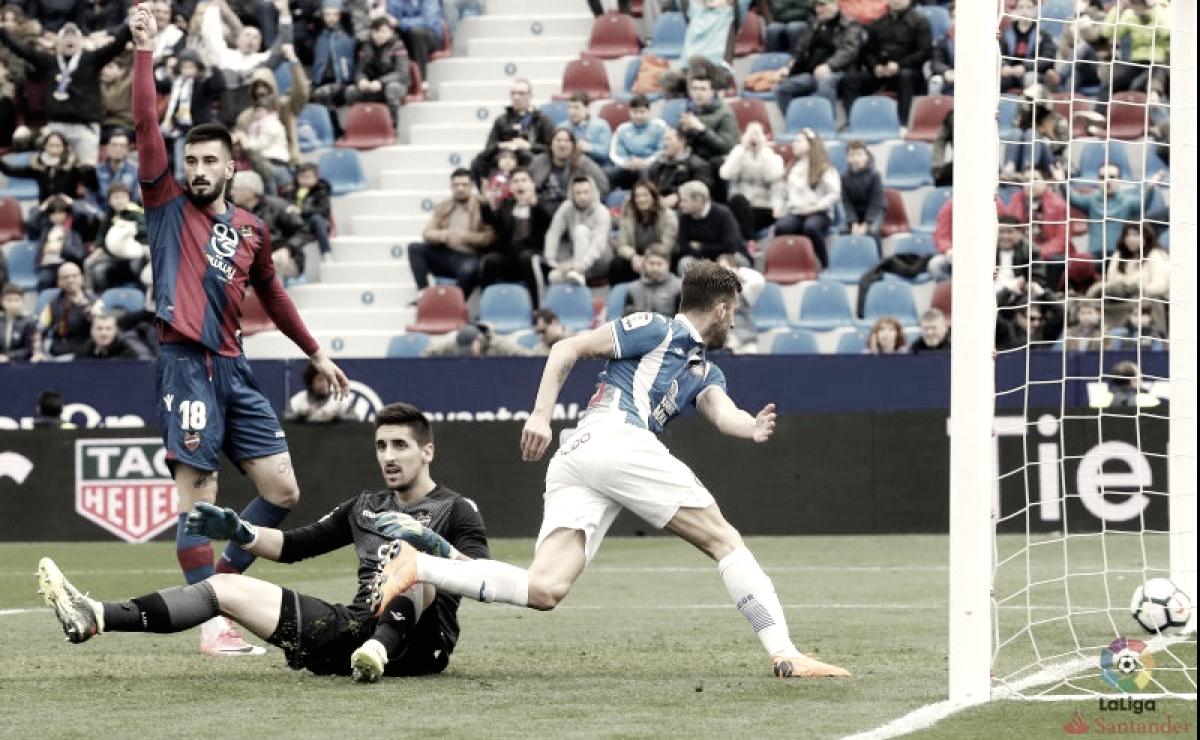 Espanyol vs Real Sociedad en vivo y en directo online en la Liga 2018 (2-1)