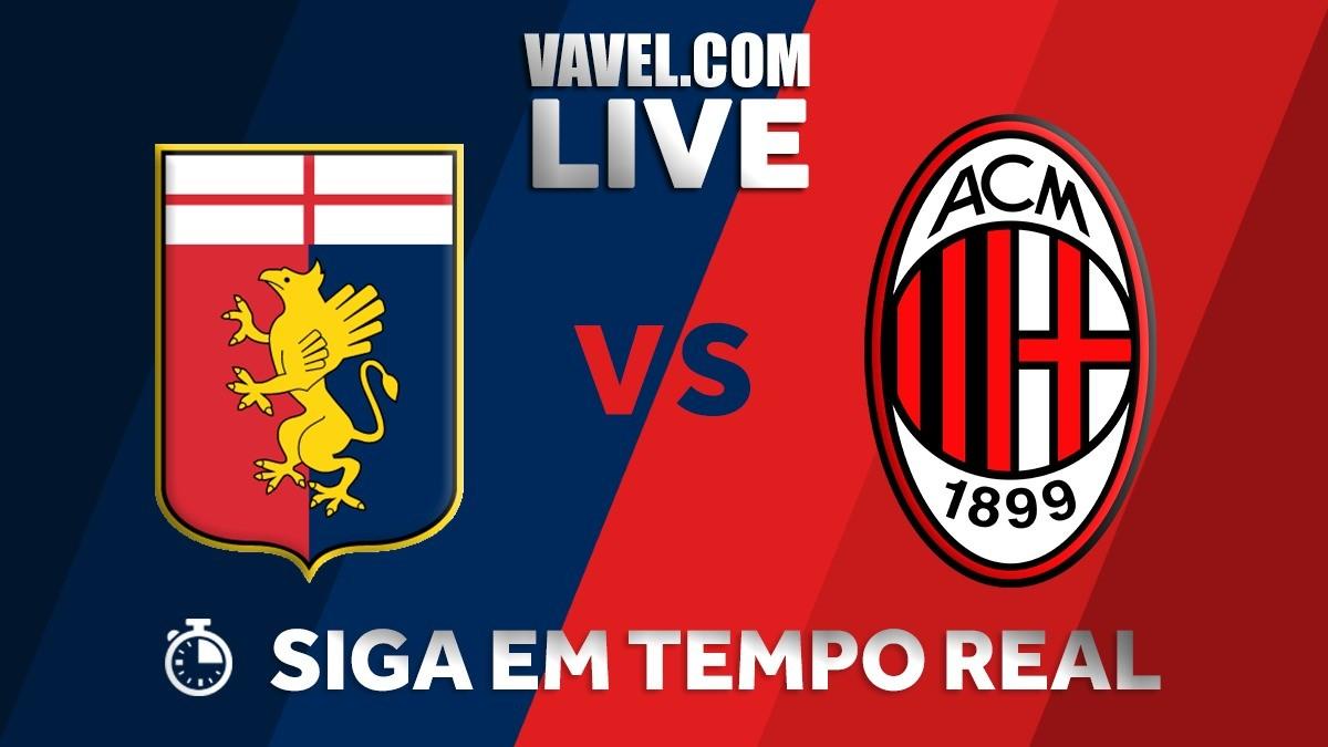 Resultado Genoa x Milan pela Serie A 2018 (0-1)