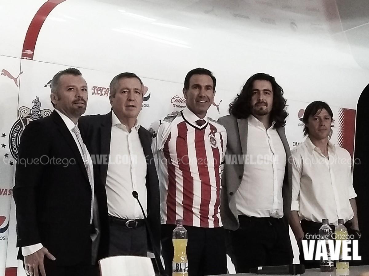 Presentan a Paco Gabriel de Anda como director deportivo de Chivas