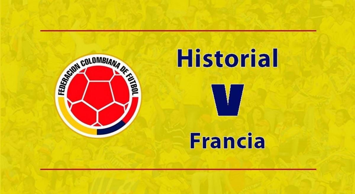 Historial negativo para la Selección Colombia ante Francia