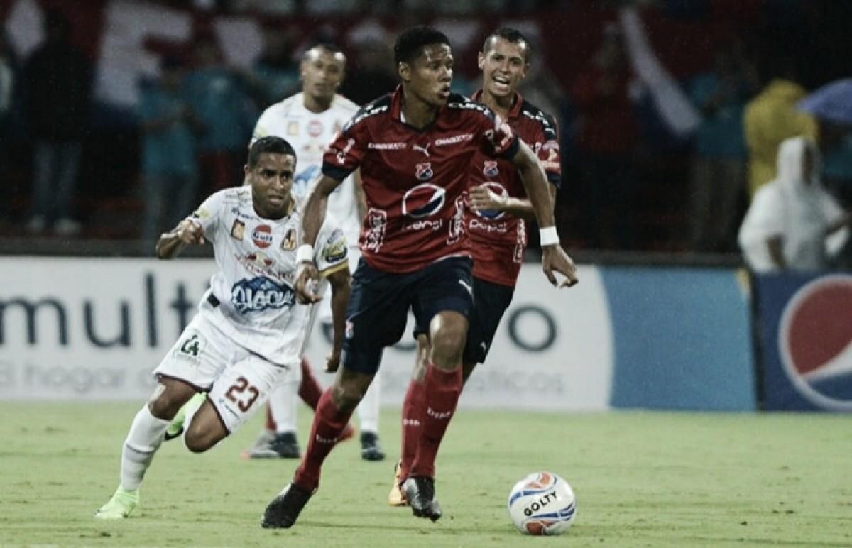 DIM - Tolima: puntuaciones del Medellín, jornada 10 Liga Águila