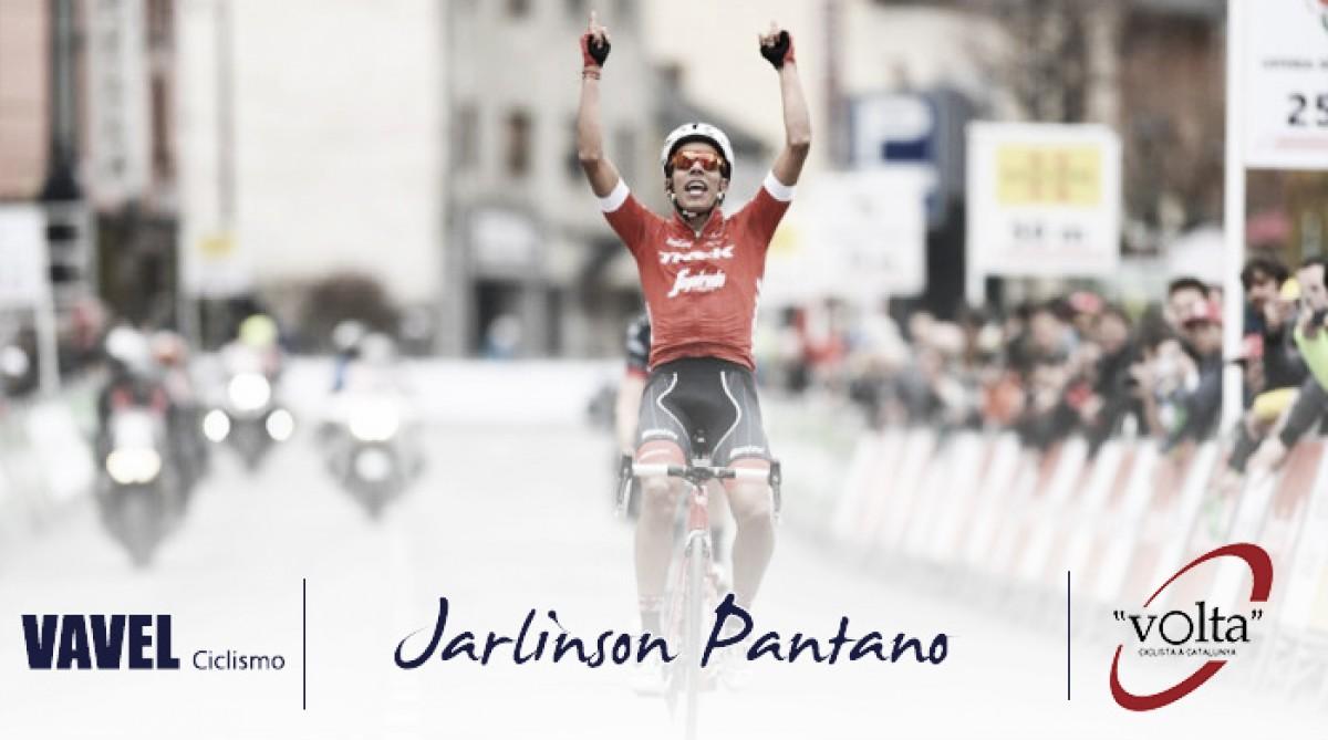 Volta a Catalunya 2018: Jarlinson Pantano, un buen rendimiento