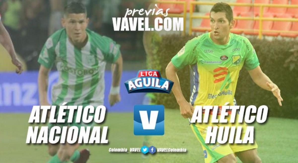 Previa: Atlético Nacional vs Atético Huila: con el acelerador a fondo