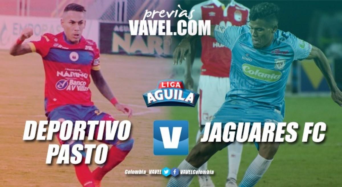 Previa Deportivo Pasto vs Jaguares: El conjunto 'nariñense' busca su tercera victoria consecutiva