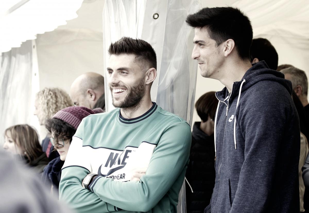 """David López: """"Queremos ganar para terminar el campeonato lo mejor posible"""""""